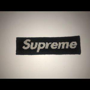 Black Supreme HeadBand
